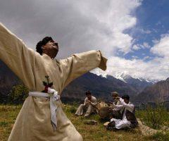 A Shaman Dancing at Hunza