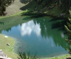 A small lake near Fairy Meadows
