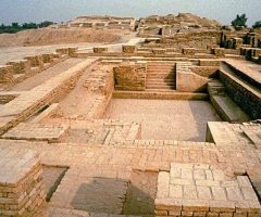 Beautiful view of Mohenjodaro