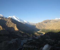 Dawn at Hunza Valley