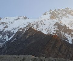 Dawn on Nanga Parbat