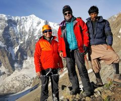 During Shaigiri Peak Expedition