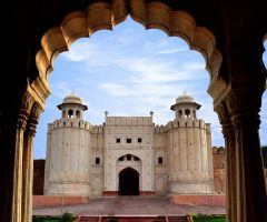 Famous Lahore Fort