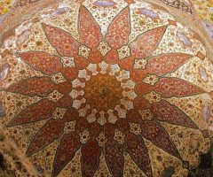 Inner Decoration of Wazir Khan Mosque