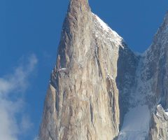Lady Finger Peak in Hunza