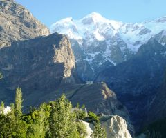 Majestic view of Ultar Sar