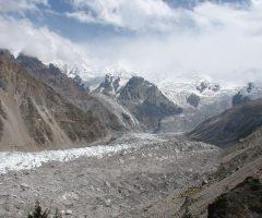 Nanga Parbat glacie