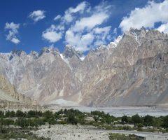 Passu village Gojal