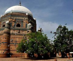 Shah Rukne Alam Tomb in Multan