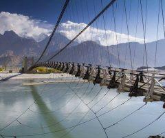 Suspension Bridge near Khaplu