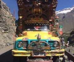 Truck on Skardu Road