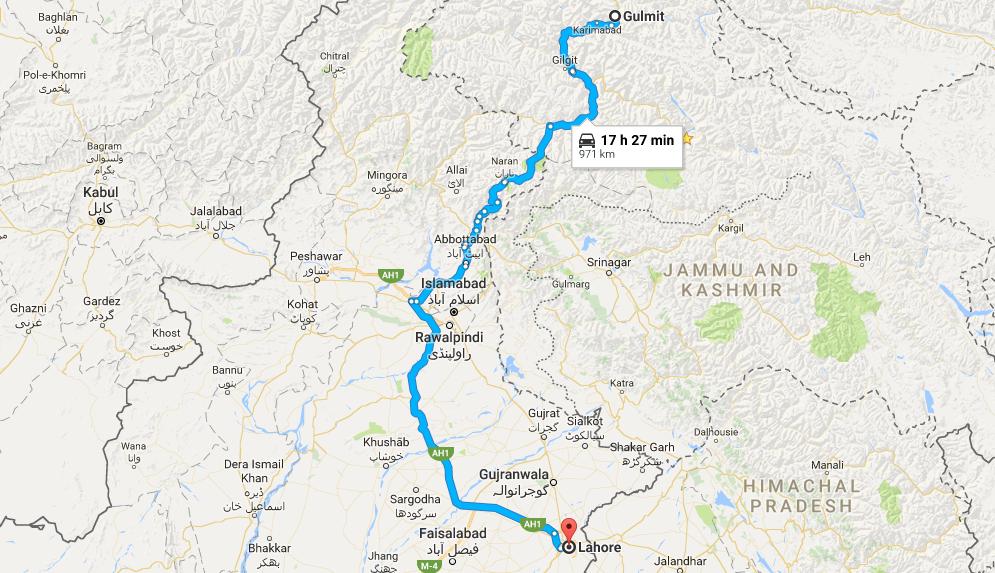 pakistan-historical-tour-map