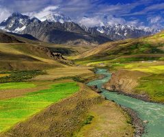 Brogal Valley in Hindukush Mountain range