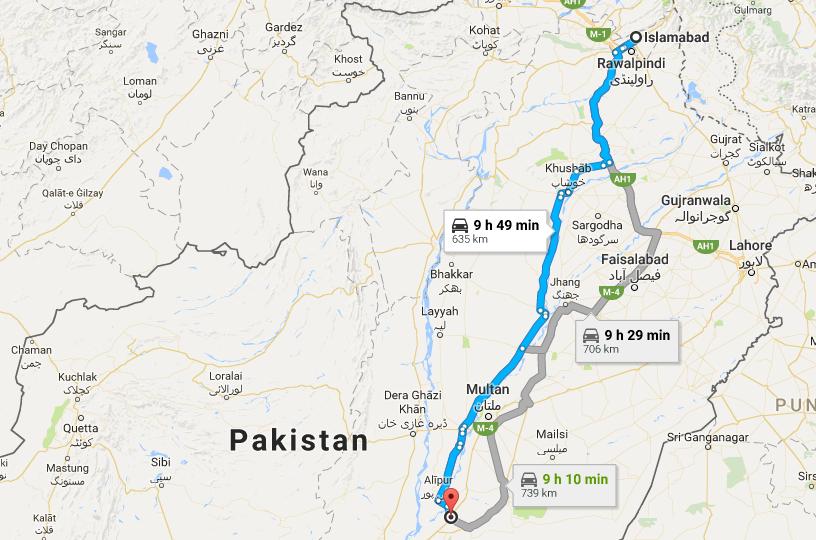 cholistan-map