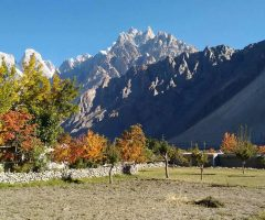 Passu Village in Hunza Valley