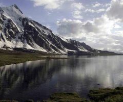 a beautiful view of Karumbar Lake