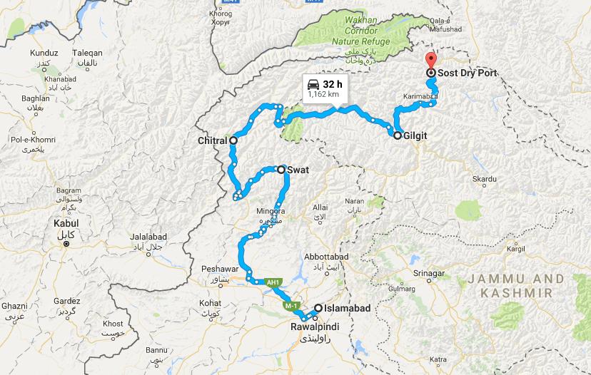 swat-hunza-map