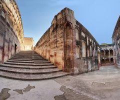 Elephant Path in Akber Fort Lahore