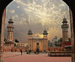 Wazir Khan Mosque in Lahore