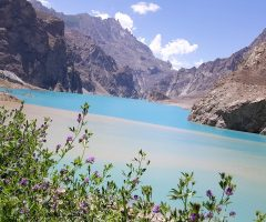 Attabad Lake on the way to Gulmit