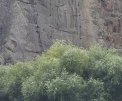 Rock Carving Buddha at Karga Nala in Gilgit
